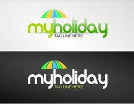 #30 Logo Design for My Holiday részére colourz által