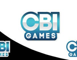#177 para Logo Design for CBI-Games.com por Jevangood