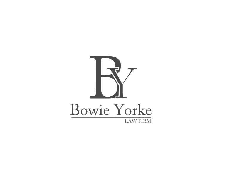 Bài tham dự cuộc thi #                                        140                                      cho                                         Logo Design for a law firm: Bowie Yorke