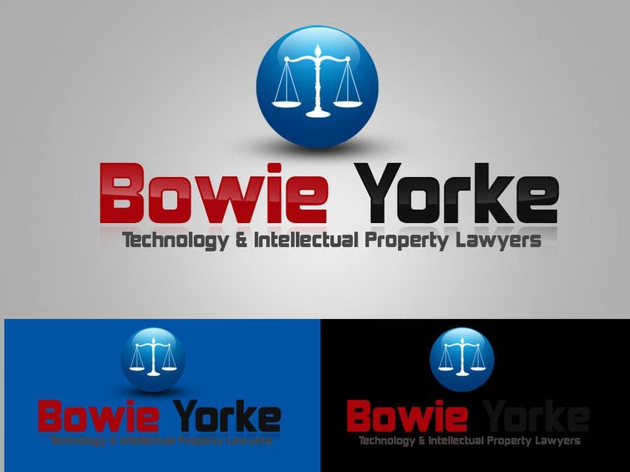 Bài tham dự cuộc thi #                                        152                                      cho                                         Logo Design for a law firm: Bowie Yorke