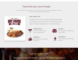 #10 para Build a Single Landing Page for Dry Creek BBQ por slnepal01