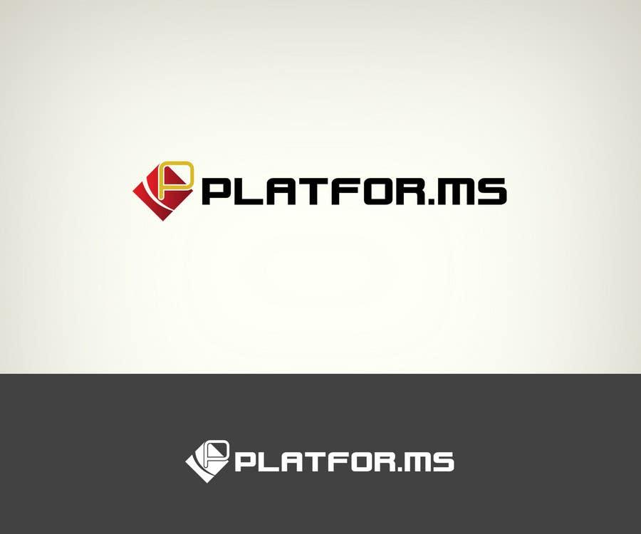Proposition n°41 du concours Logo Design for Platfor.ms