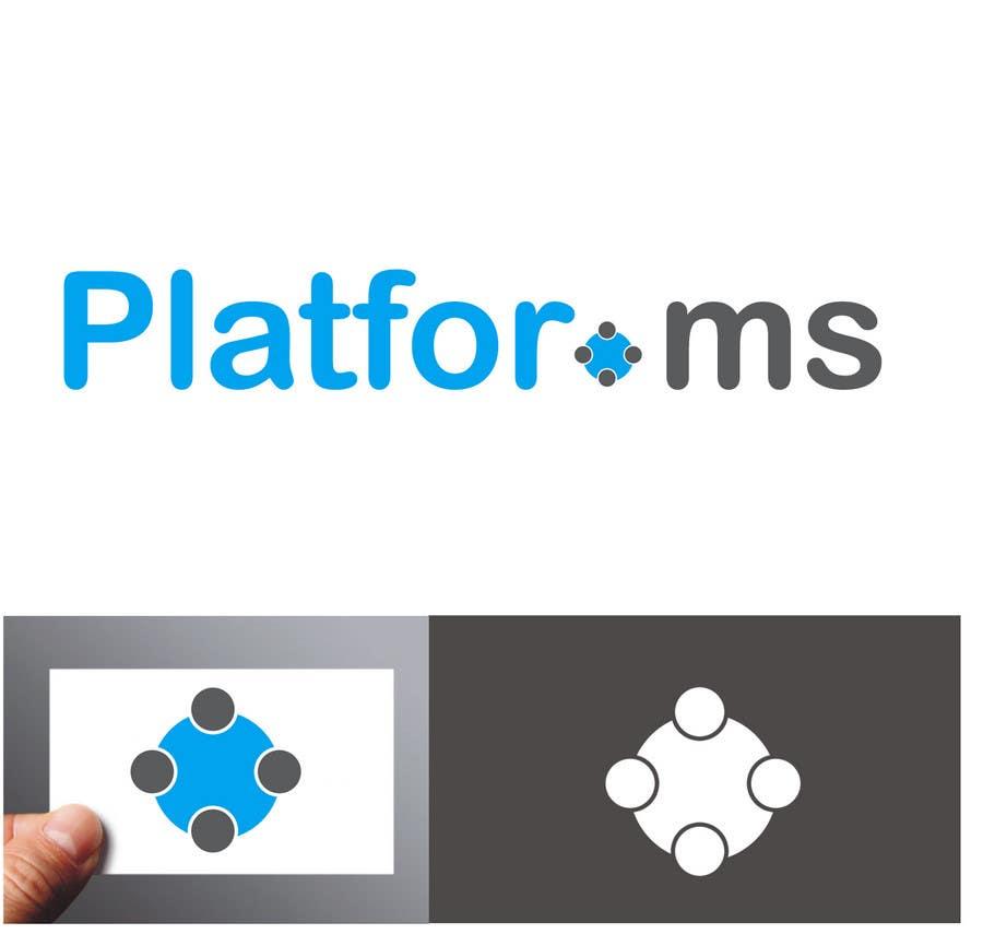 Inscrição nº 125 do Concurso para Logo Design for Platfor.ms