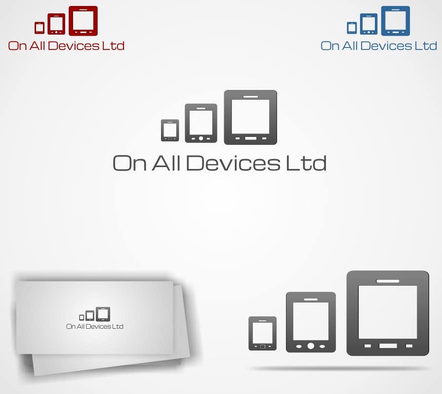 Konkurrenceindlæg #                                        33                                      for                                         Logo Design for On All Devices Ltd