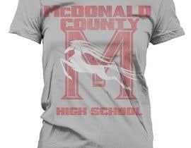 ferretrellim tarafından Mustangs spiritwear shirt için no 34