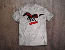 db1404 tarafından Mustangs spiritwear shirt için no 22