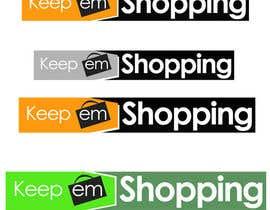#71 pentru Logo Design for Keep em Shopping de către UnivDesigners