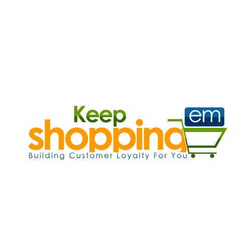 #49 for Logo Design for Keep em Shopping by UnivDesigners