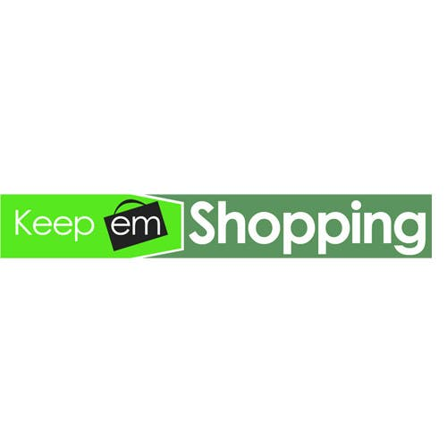 #64 for Logo Design for Keep em Shopping by UnivDesigners