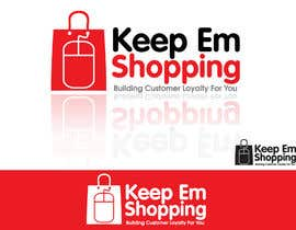 #121 pentru Logo Design for Keep em Shopping de către winarto2012