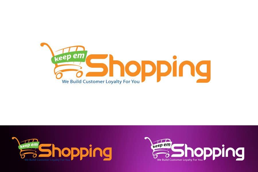 #60 for Logo Design for Keep em Shopping by aquariusstar