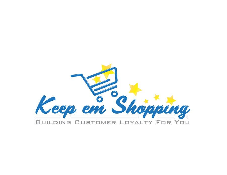 #52 for Logo Design for Keep em Shopping by SkyWalkerAL