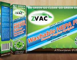 #39 cho Print & Packaging Design for GoVacuum.com - ZVac bởi PetaSmart