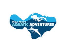 #183 para Logo Design for Maui Mikes Aquatic Adventures por marumaruya2010