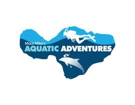 #146 para Logo Design for Maui Mikes Aquatic Adventures por marumaruya2010