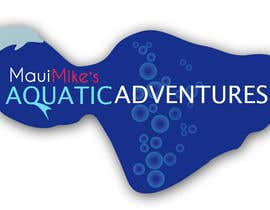 #82 para Logo Design for Maui Mikes Aquatic Adventures por JennyJazzy