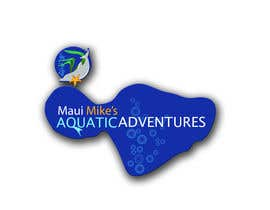 #121 para Logo Design for Maui Mikes Aquatic Adventures por JennyJazzy