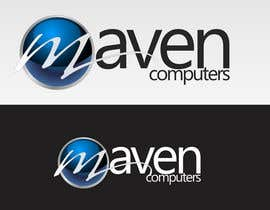 #295 untuk Logo Design for Maven Computers oleh bitbyteworld