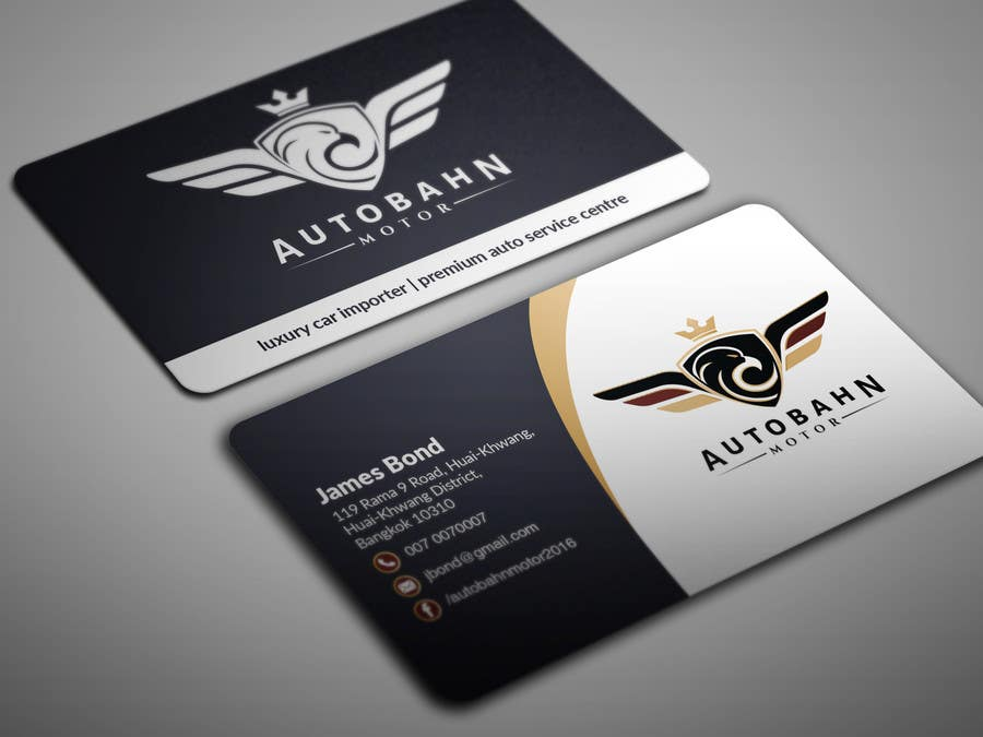 Entry 26 by bikashbapon for business card for prestige car showroom business card reheart Images