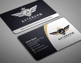 Nro 26 kilpailuun Business card for prestige car showroom using existing Logo käyttäjältä BikashBapon