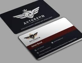 Nro 70 kilpailuun Business card for prestige car showroom using existing Logo käyttäjältä BikashBapon