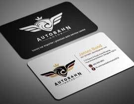 Nro 1 kilpailuun Business card for prestige car showroom using existing Logo käyttäjältä smartghart