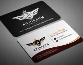 Nro 4 kilpailuun Business card for prestige car showroom using existing Logo käyttäjältä smartghart