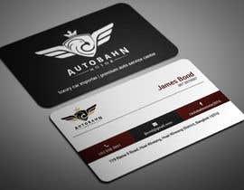 Nro 55 kilpailuun Business card for prestige car showroom using existing Logo käyttäjältä smartghart
