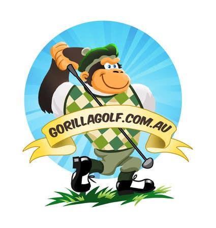 Bài tham dự cuộc thi #13 cho Logo Design for www.gorillagolf.com.au