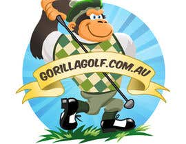 #14 para Logo Design for www.gorillagolf.com.au por AvatarFactory