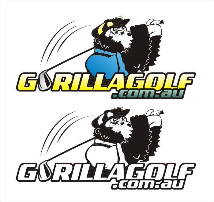 Bài tham dự cuộc thi #38 cho Logo Design for www.gorillagolf.com.au