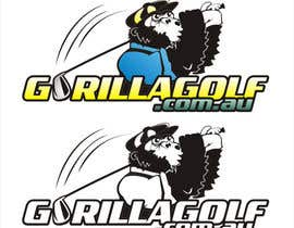 #38 for Logo Design for www.gorillagolf.com.au by unpocoloco