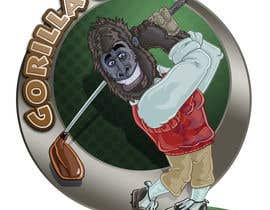 #19 para Logo Design for www.gorillagolf.com.au por SavageMike