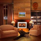 Graphic Design Inscrição do Concurso Nº24 para Transform a bad hand drawing into a quality graphic-Two Living Rooms (2 styles:Log Cabin and Modern)