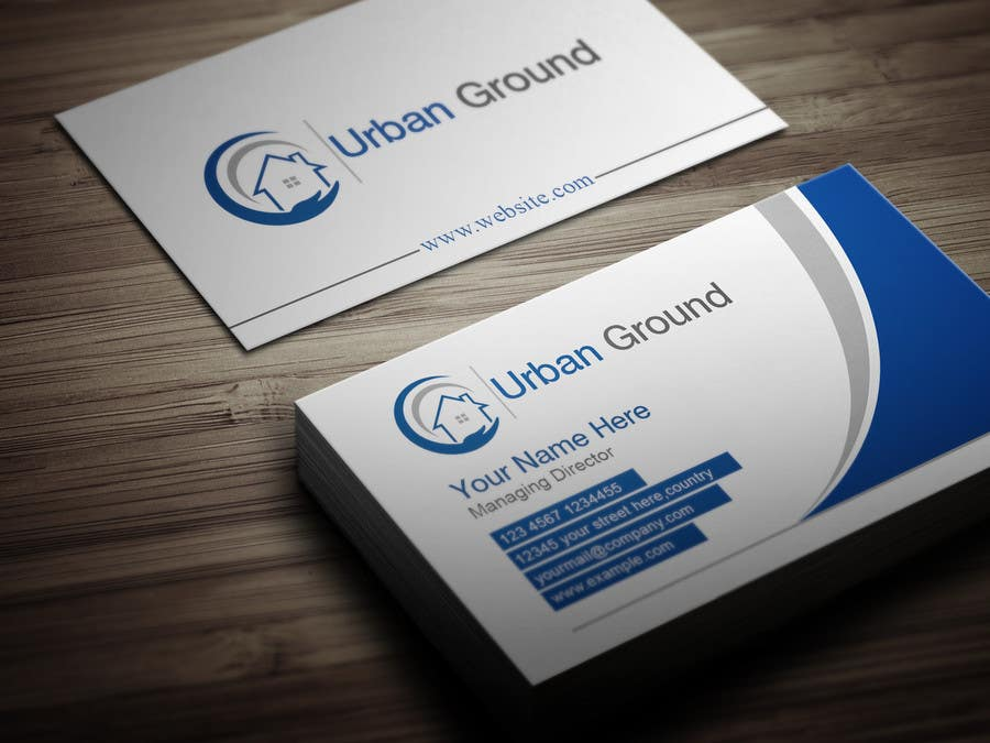 Entry 188 by shahnaowaz for logo business card design for a contest entry 188 for logo business card design for a german property tech startup reheart Image collections