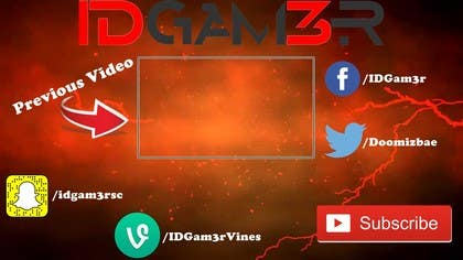 Image of                             YouTube Outro