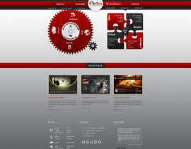 #3 for Website home page (DESIGN ONLY, no implementation required), including custom vector graphic creation. by Wecraft