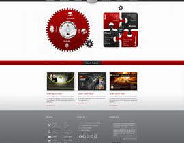 nº 1 pour Website home page (DESIGN ONLY, no implementation required), including custom vector graphic creation. par Wecraft