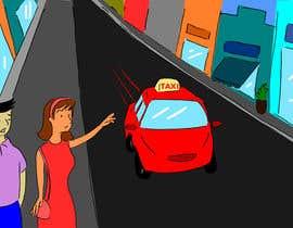 nº 2 pour Illustration simple 2 personnages + un taxi par CiroDavid