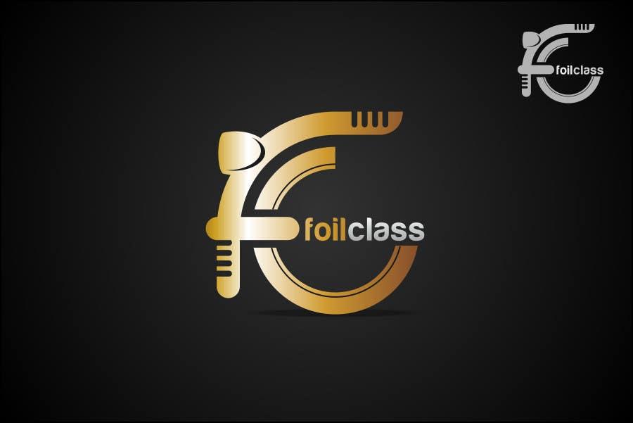 Конкурсная заявка №517 для Logo Design for FoilClass - High-end/luxury