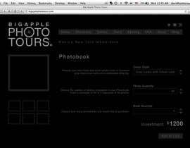 nº 7 pour Design a Webpage Mockup with Photoshop CS6. par pixelke