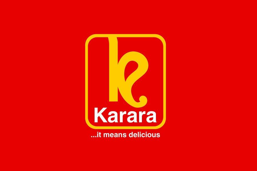 Inscrição nº 552 do Concurso para Logo Design for KARARA The Indian Takeout