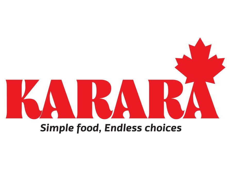Inscrição nº 157 do Concurso para Logo Design for KARARA The Indian Takeout
