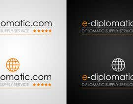 nº 21 pour Logo Design for online duty free diplomatic shop par edsdanny