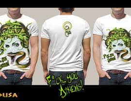 #33 cho Medusa T-Shirt Design bởi naty2138
