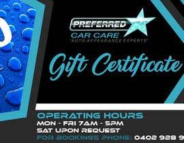 Nro 11 kilpailuun Design A Gift Certificate käyttäjältä krismhond