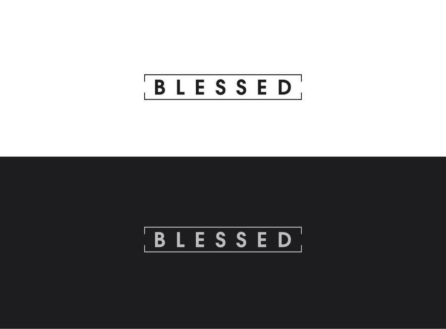 Bài tham dự cuộc thi #                                        98                                      cho                                         Design a Beautiful Logo For the Word: BLESSED