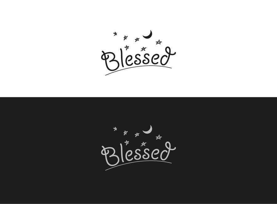 Bài tham dự cuộc thi #                                        222                                      cho                                         Design a Beautiful Logo For the Word: BLESSED