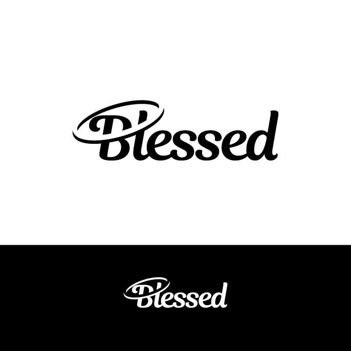 Bài tham dự cuộc thi #                                        281                                      cho                                         Design a Beautiful Logo For the Word: BLESSED