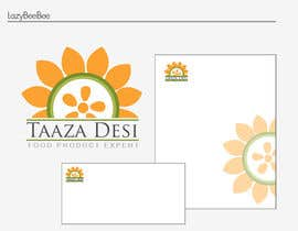 #204 untuk Logo Design for Indian and pakistani grocery oleh lazybeebee